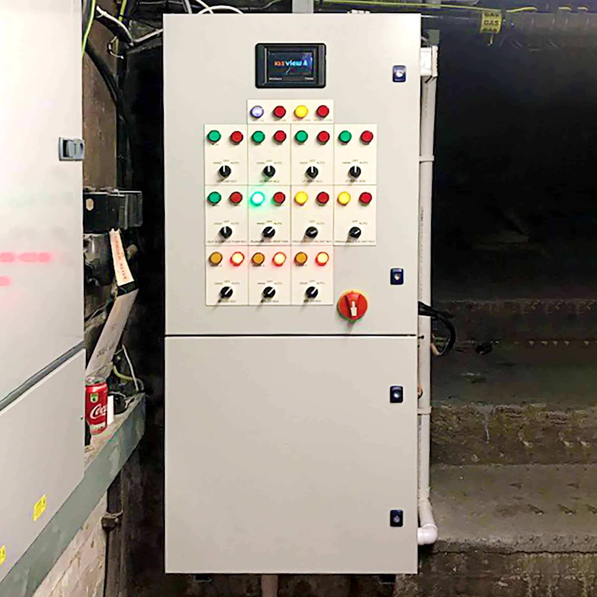 New replacement boiler control