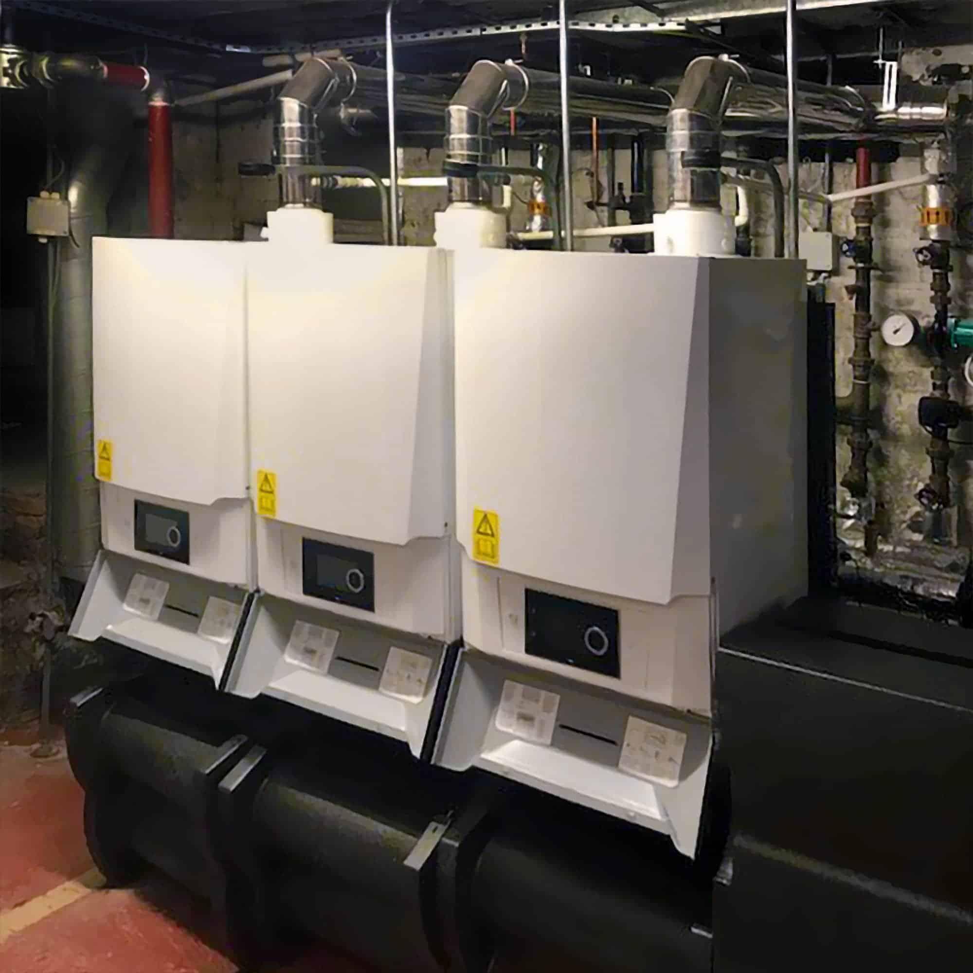 New replacement boilers
